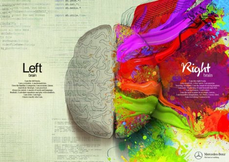 MERCEDES BENZ LEFT BRAIN- RIGHT BRAIN AD