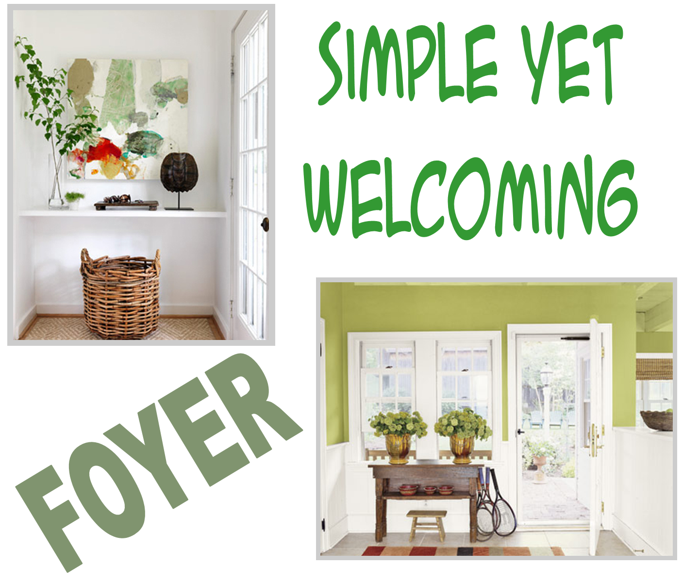 Examples Of Decorating Styles