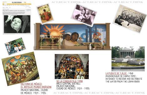 to read the complete articles, visit: http://playball.eluniversal.com/arte-y-entretenimiento/cultura/111208/diego-rivera-celebra-125-anos-de-nacimiento  ... http://www.reconoce.mx/una-joya-abandonada-por-el-desconocimiento/  COLLAGE BY ME