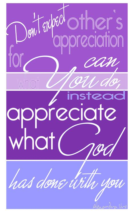 POSTER appreciation