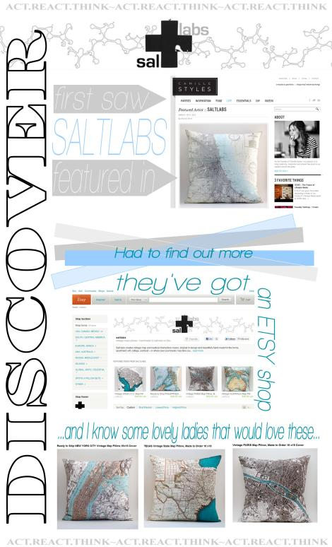collage by ME with images from CAMILLESTYLES.COM & SALTLABS etsy shop