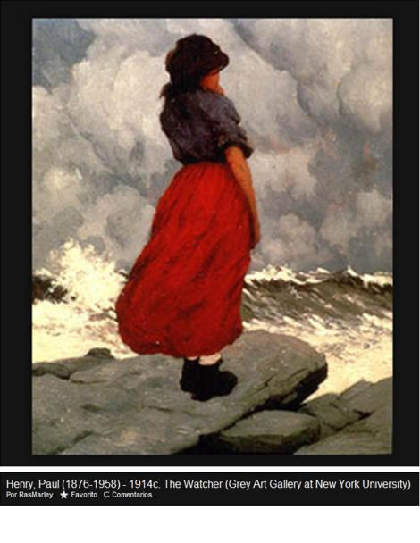 the watcher by paul henry