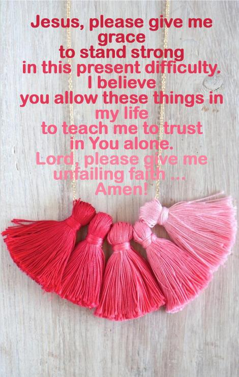 unfailing faith
