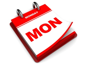 Monday-calendar-dreamstime_14224102-2