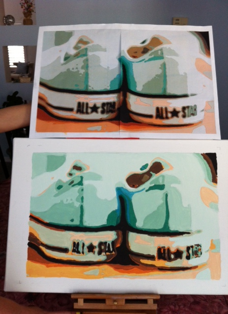 CONVERSE PAINT-BY-TONE