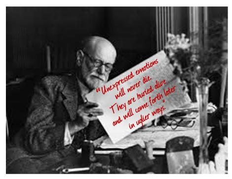 FREUD ON CRYING