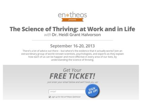 The Science of Thriving
