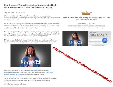science of thriving