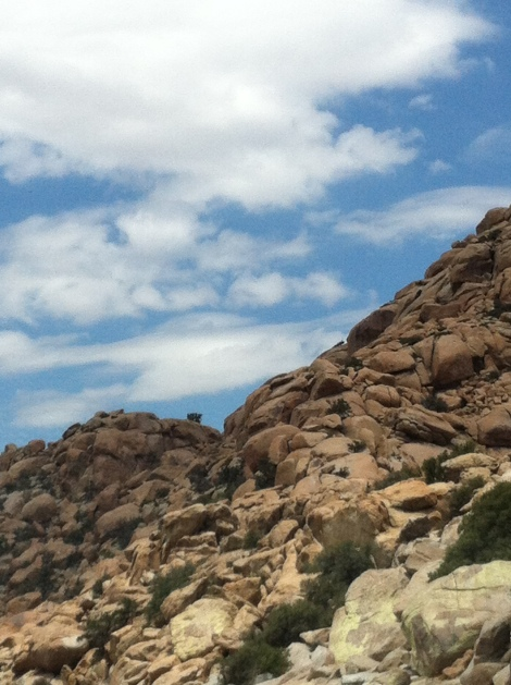 La Rumorosa, B.C. ...rocky view...pic by me